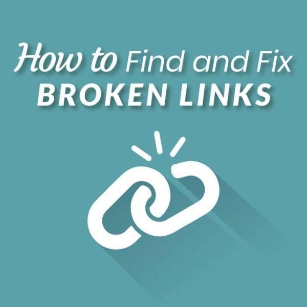 How to fix broken backlinks